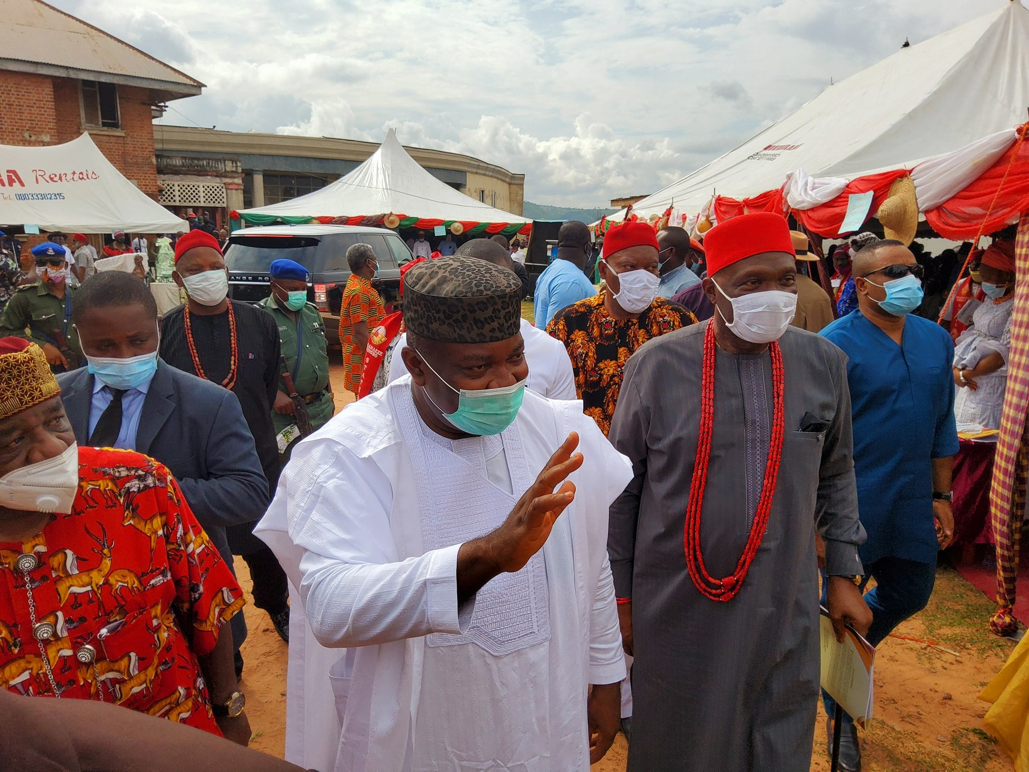 Gov Ugwuanyi and Nnia Nwodo